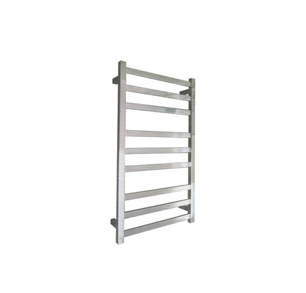 ELITE SQUARE HEATED TOWEL LADDER 900X500MM BRUSHED