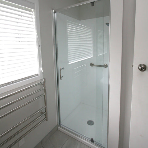 ELEGANCE FRAMED SHOWER KIT - ALCOVE