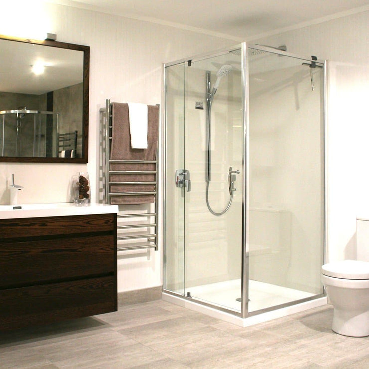 ELEGANCE FRAMED SHOWER KIT SERIES 1 CEN W - 2 SIDED FROM $949!