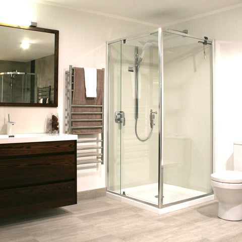 ELEGANCE FRAMED SHOWER KIT - 2 SIDED FROM $949!
