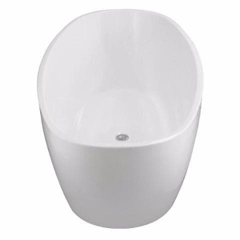 ELITE CERVO ACRYLIC FREESTANDING BATH 1600X800X580MM