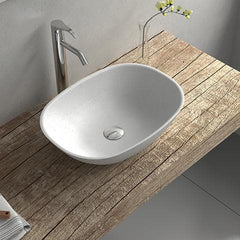 ELITE CERVO QUARTZ BASIN 550X400X150MM 2 COLOURS