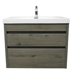 ELITE CUBE 750 2 DRAWER WALL HUNG STOCK VANITY & TOP