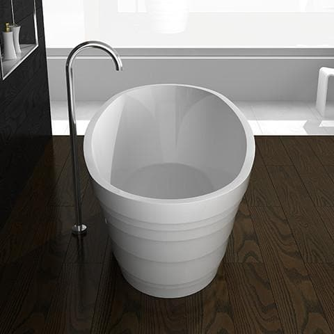 ELITE IDAHO QUARTZ FREESTANDING BATH 1600X750X550MM 5 COLOURS