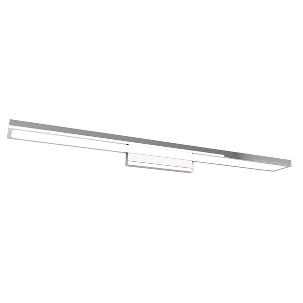 STARK LED MIRROR WALL LIGHT STANDARD CHROME 2 SIZES