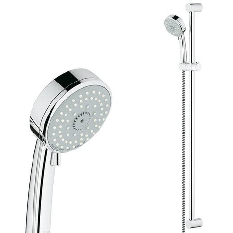GROHE TEMPESTA 4 FUNCTION SHOWER SLIDE