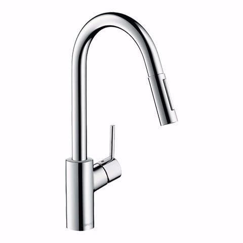 HANSGROHE ELITE PULLOUT KITCHEN MIXER CHROME
