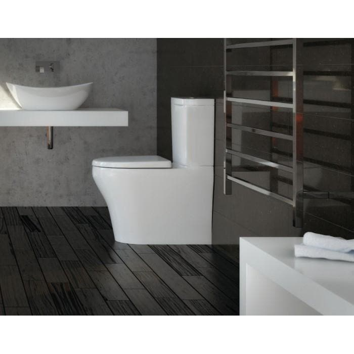IDEAL STANDARD CYGNET OVERHEIGHT BTW TOILET SUITE SQUARE
