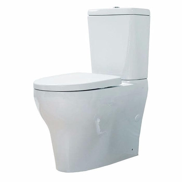 AMERICAN STANDARD CYGNET OVERHEIGHT BTW TOILET SUITE SQUARE