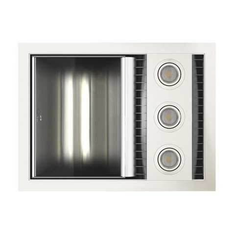 IXL TASTIC NEO VENT WITH SINGLE HEAT & LIGHT WHITE