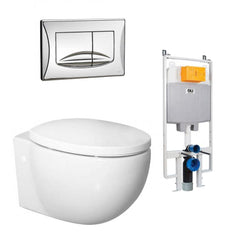 ENVY WALL HUNG TOILET SUITE PACKAGE - 1 ONLY