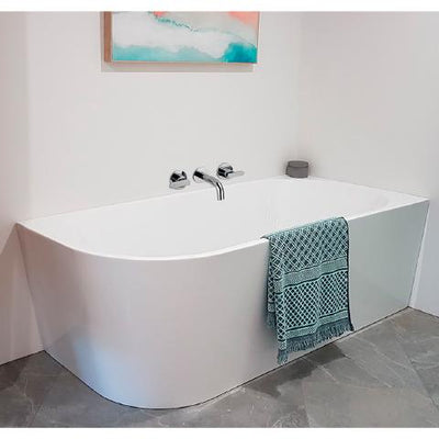 NEWARK BTW FREESTANDING CORNER BATH 2 SIZES