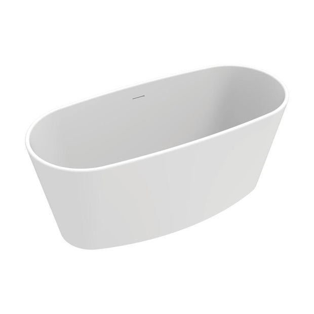 NIAGARA VERONA FREESTANDING BATH MATTE WHITE 1580MM