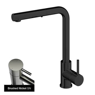 PLUMBLINE BUDDY SQUARE SPOUT PULL OUT SPRAY KITCHEN MIXER