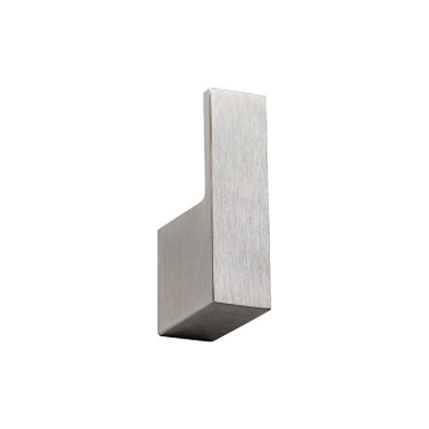 PLUMBLINE METRO ROBE HOOK BRUSHED STAINLESS STEEL