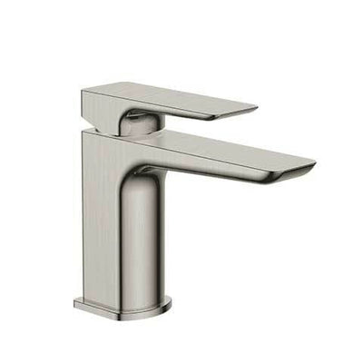 PLUMBLINE COMO BASIN MIXER BRUSHED STAINLESS