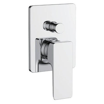 PLUMBLINE COMO DIVERTER MIXER CHROME