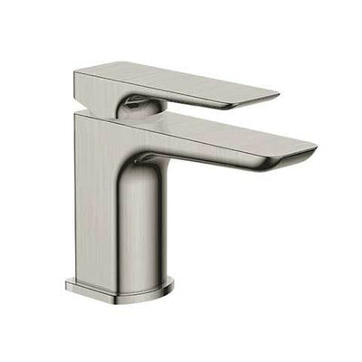 PLUMBLINE COMO MINI BASIN MIXER BRUSHED STAINLESS