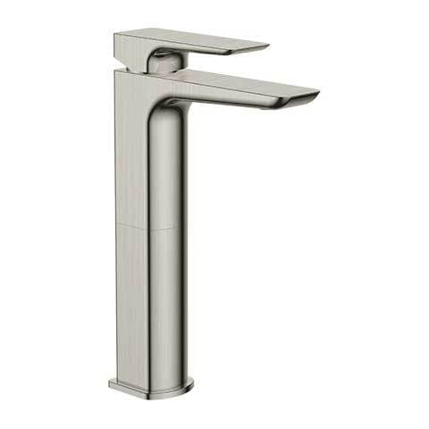 PLUMBLINE COMO VESSEL BASIN MIXER BRUSHED STAINLESS