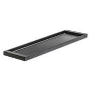 PLUMBLINE METRO SHOWER TRAY MATT BLACK