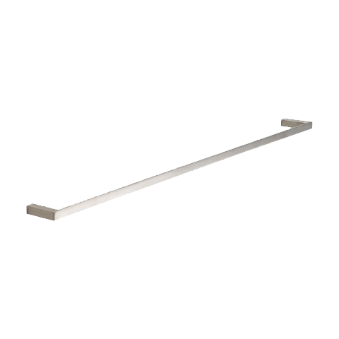PLUMBLINE METRO TOWEL RAIL 920MM BRUSHED STAINLESS STEEL