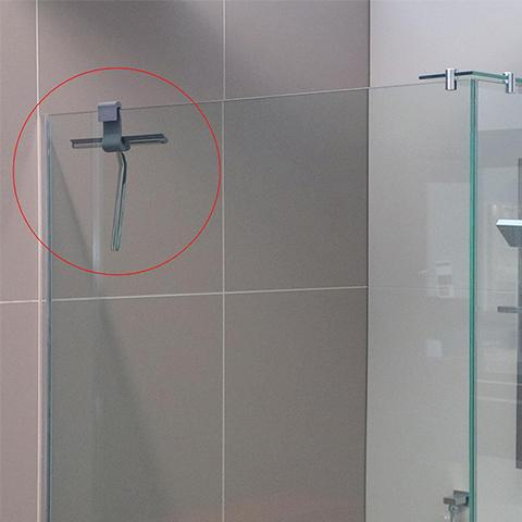 METRO SHOWER WIPER WITH HOLDER CHROME