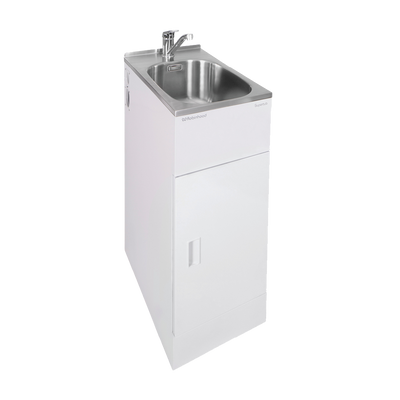 ROBINHOOD ELITE LAUNDRY TUB & TAP 350X560MM 1 DOOR