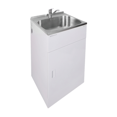 ROBINHOOD ELITE LAUNDRY TUB & TAP 560X562MM 1 DOOR