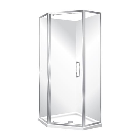 ELITE SLIMLINE FRAMED SHOWER KIT - QUAD