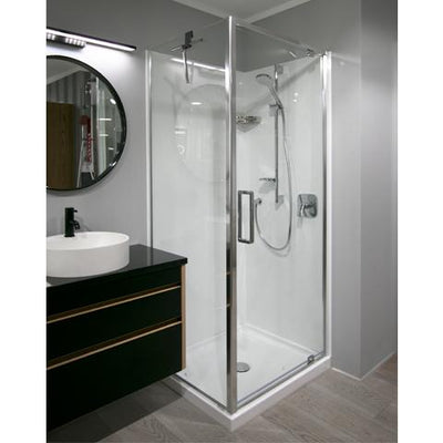 ELITE SLIMLINE FRAMED SHOWER KIT - SQUARE FROM $1299