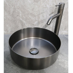 CODE ROUND STAINLESS STEEL BASINS 360Ø X 120HMM - 3 COLOURS