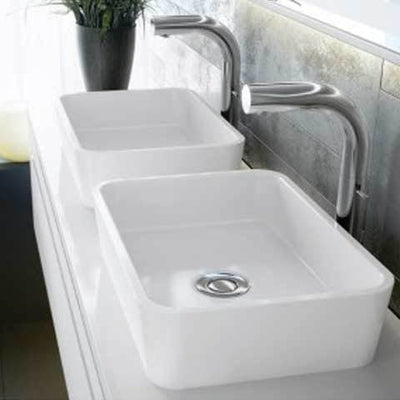 VICTORIA & ALBERT EDGE QUARRYCAST VESSEL BASIN 450X320MM