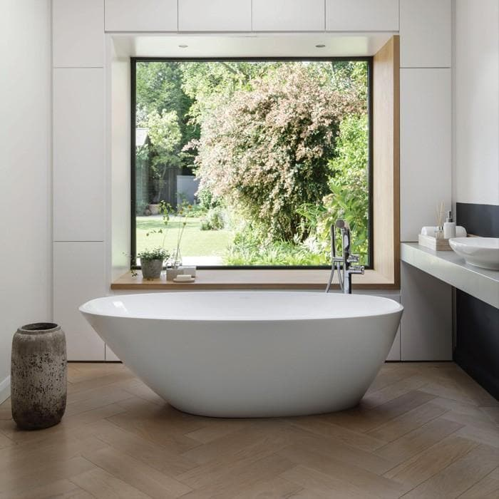 VICTORIA & ALBERT MOZZANO QUARRYCAST FREESTANDING BATH 1644X743X495MM
