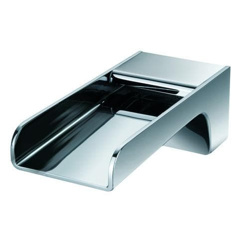 WATERWARE CASCADE WALL MOUNTED WATER FALL BATH SPOUT 180MM