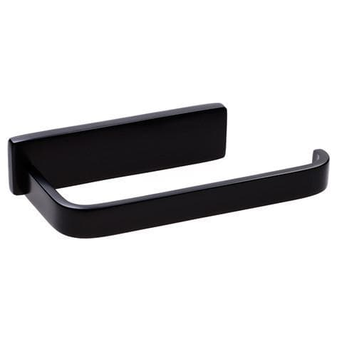 WATERWARE CUBIC TOILET ROLL HOLDER BLACK