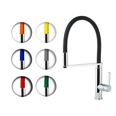 WATERWARE FLEX GOOSENECK PULL DOWN SINK MIXER