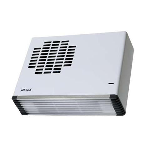 WEISS WALL MOUNTED FAN HEATER WHITE GLOSS FH24WH