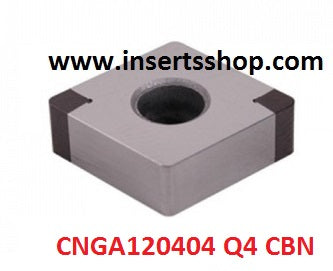 CNGA 160404 Q4 BT6000 , Inserts , CBN Turning Inserts , CNGA12 , CBN  , JINEIT, 1 Set = 1 Nos. - Inserts Shop