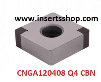 CNGA 120408 Q4 BT6000 , Inserts , CBN Turning Inserts , CNGA12 , CBN  , JINEIT, 1 Set = 1 Nos. - Inserts Shop