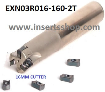EXN03R016-160-2T , Inserts , Feed Milling Cutter , LNMU0303 16MM CUTTER ,   , CRM, 1 Set = 1 Nos. - Inserts Shop