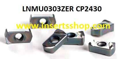 LNMU 0303ZER CP2430 , Inserts , Milling Inserts , LNMU0303  , CP2430  , CRM, 1 Set = 10 Nos. - Inserts Shop