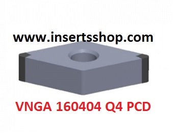 VNGA 160404 Q4 BT6000 , Inserts , CBN Turning Inserts , VNMG16 , CBN  , JINEIT, 1 Set = 1 Nos. - Inserts Shop