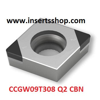 CCMW 09T308 Q2 BT6000 , Inserts , CBN Turning Inserts , CCMT09 , CBN  , JINEIT, 1 Set = 1 Nos. - Inserts Shop