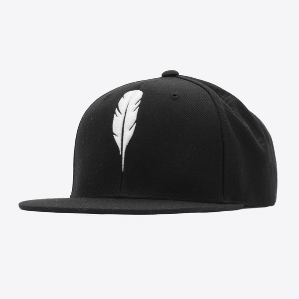 Feather Snapback White