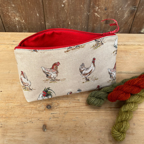 Project Bag - Chickens