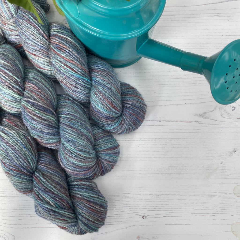 Hampshire 4ply - Fluff and Stuff Cambric Yarn - Blue Skies Good Times