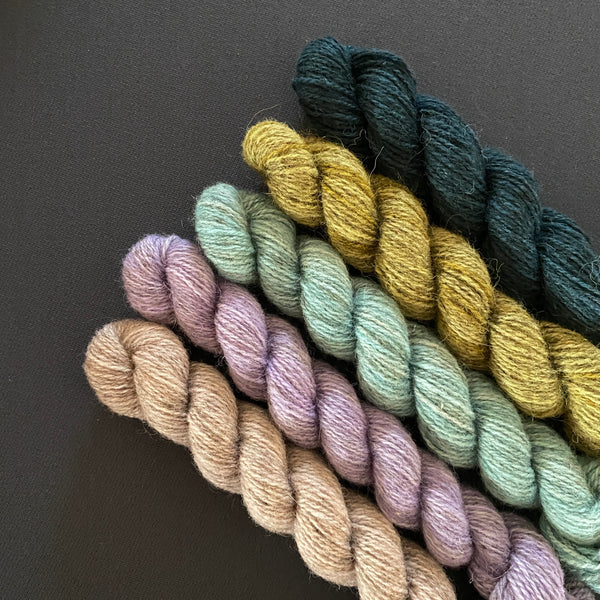 Hampshire 4ply Mini Skeins - Point of View