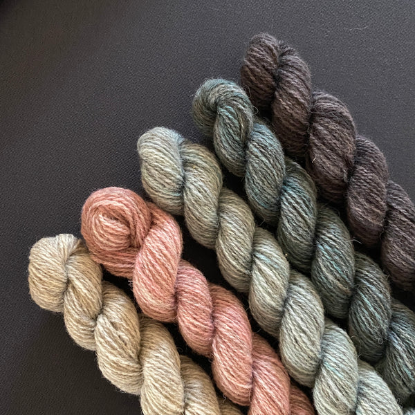Hampshire 4ply Mini Skeins - Touch Stone