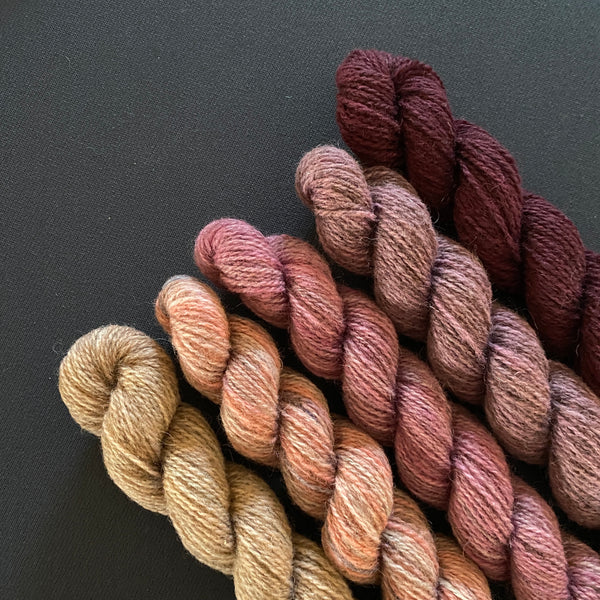 Hampshire 4ply Mini Skeins -Tired Eyes