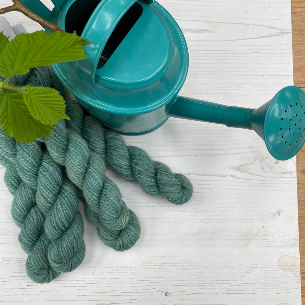 British Stein Fine Wool® 4ply -  Mini Skein - Aqua